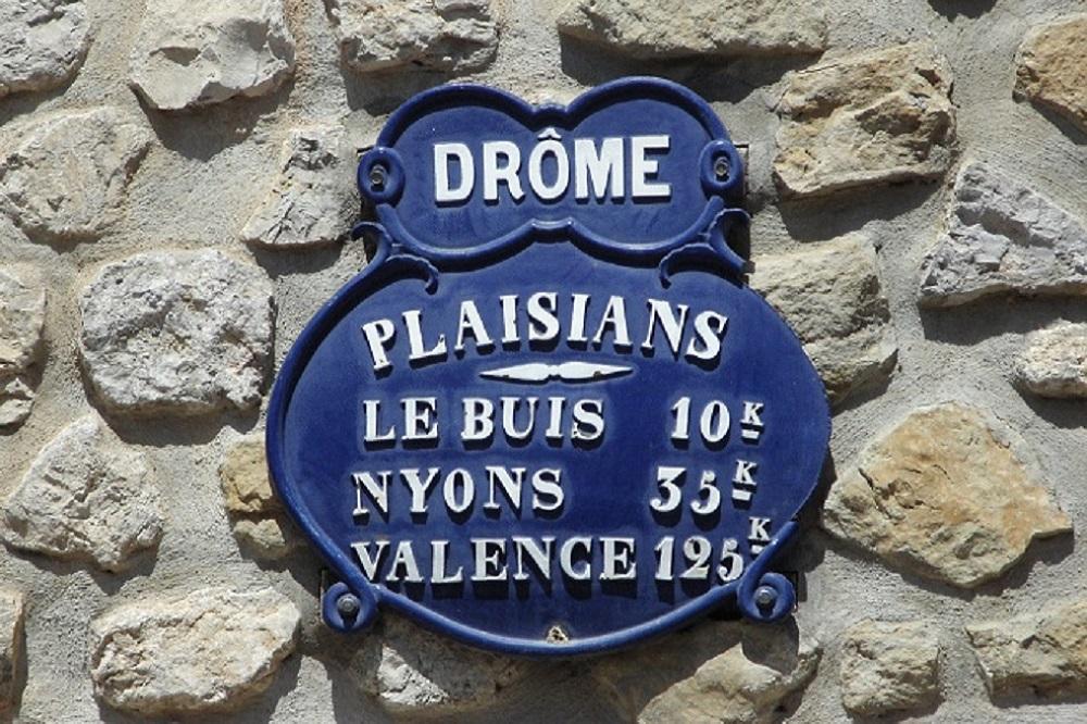 Plaque Drome