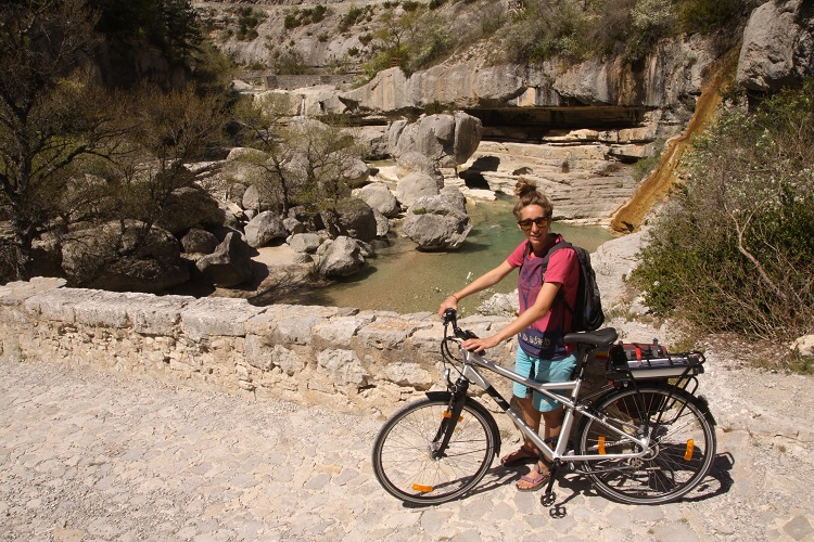 Vélo en Baronnies